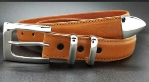 "RS71 1-1/4"" BROKER on a COGNAC CALF"