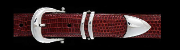 Classic buckle, Sterling Silver