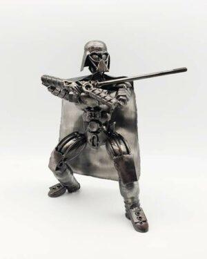Darth Vader inspired (#1) recycled metal art