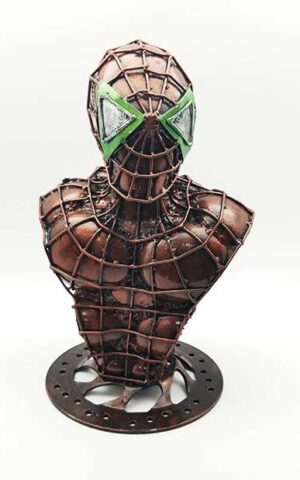 Inspired by Marvel Comics / Spiderman bust