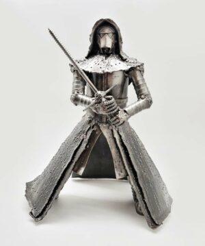 Star Wars Kylo Ren inspired recycled metal art