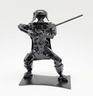 Inspired by Darth Vader (SMALL) recycled metal art