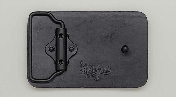 Blank base metal buckle for engraving