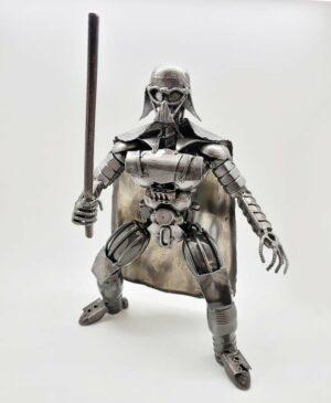 Darth Vader inspired (#2) recycled metal art